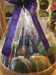 Yarn crawl prize